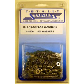 Totally Stainless #6/8/10/12 Washers - Panel 1 (F1) - #8-4200