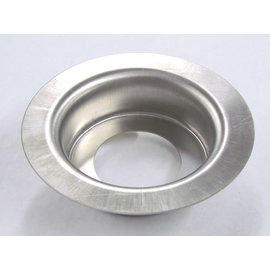 "Tanks Inc. Stainless Steel Flush Mount Fuel Filler Bowl 2-3/8"" Inch Hole - FM2-H"