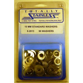 Totally Stainless 10MM Standard Washers - Panel 1 (G5) - #8-2013