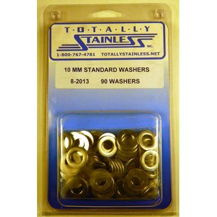 Totally Stainless 10MM Stainless Standard Flat Washers