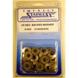 Totally Stainless 3/8 Neoprene Backed Washer - Panel 2 (G4)  - #8-0530