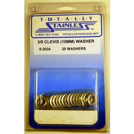 Totally Stainless 10mm Clevis Washer - Panel 2 - #8-2034