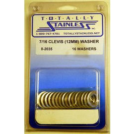 Totally Stainless 12mm Clevis Washer - Panel 2 - #8-2035