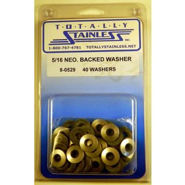 Totally Stainless 5/16 Neoprene Backed Washer - Panel 2 (G3) - #8-0529