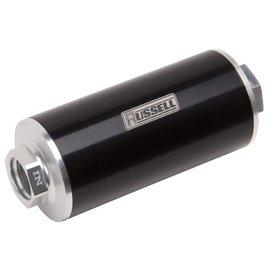 Tanks Inc. 10 Micron Billet Fuel Filter Female -10 ORB Inlet & Outlet - R649250