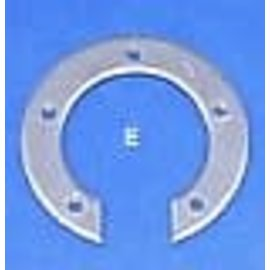 Tanks Inc. 5-Hole Threaded Sender Split Ring Mild Steel - SR-MS
