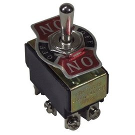 Tanks Inc. Chrome Toggle Switch On/OFF/On  Double Pole, Double Throw - TS