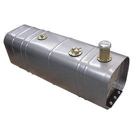 """Tanks Inc. Universal Coated Steel Gas Tank w/ 3"""" Tall Neck & Cap - U3-G"""
