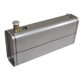Tanks Inc. Universal Stainless Steel EFI Gas Tank w/ Neck & Cap - U9-SS
