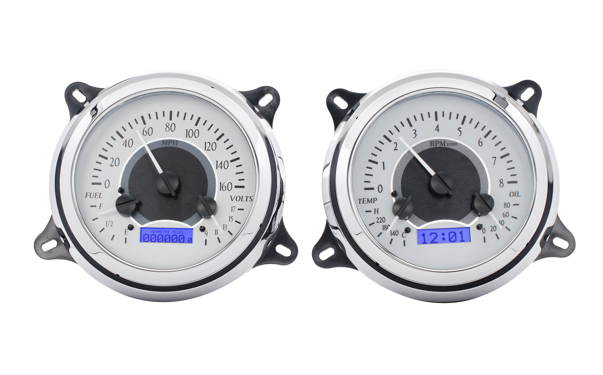 47 53 Chevy Truck Vhx Gauges Affordable Street Rods