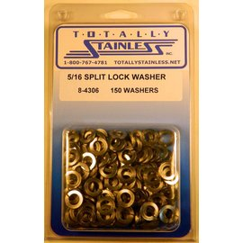 Totally Stainless 5/16 Stainless Split Lock Washers