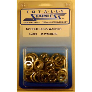 Totally Stainless 1/2 Stainless Split Lock Washers