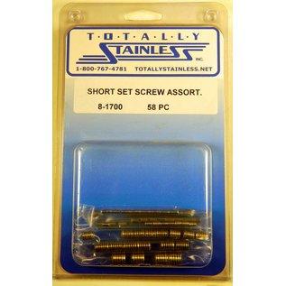 Totally Stainless Stainless Short Set Screw Assortment