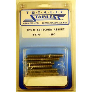 Totally Stainless 5/16-18 Stainless Set Screw Assortment