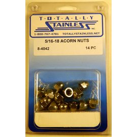 Totally Stainless 5/16-18 Acorn Nuts - Panel 3 - #8-4042