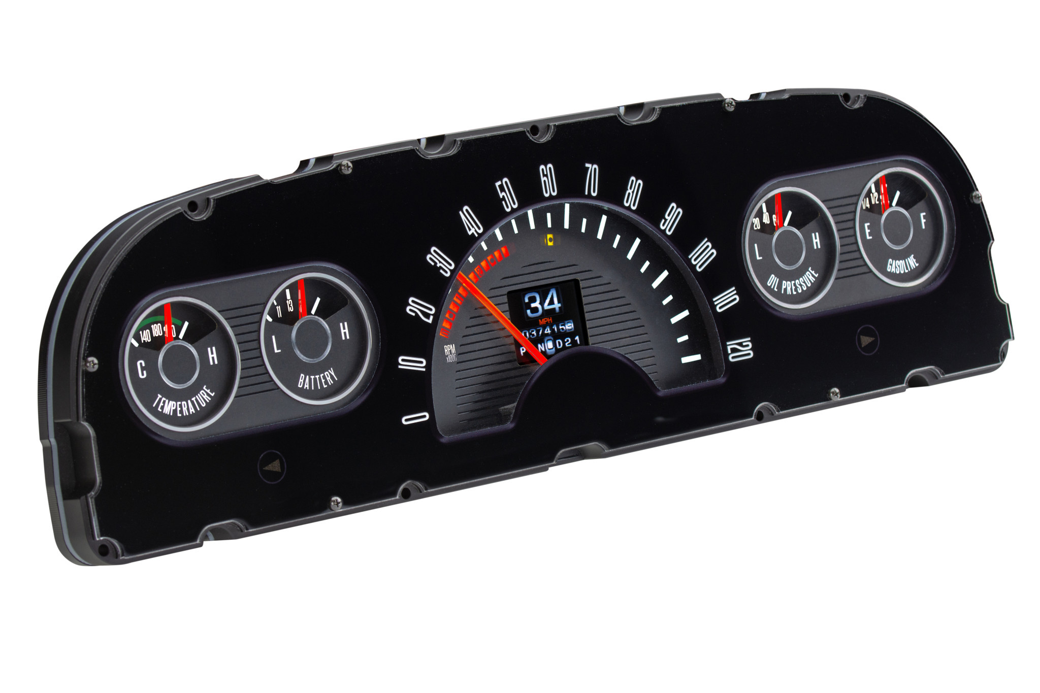 60-63 Chevy Truck RTX Gauge System - RTX-60C-PU-X - Affordable Street Rods