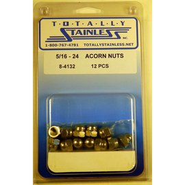 Totally Stainless 5/16-24 Acorn Nuts - Panel 4 - #8-4132