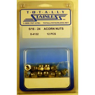 Totally Stainless 5/16-24 Stainless Acorn Nuts