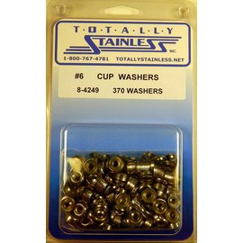 Totally Stainless #6 Stainless Cup Washers