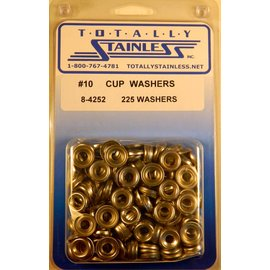 Totally Stainless #10 Cup Washers (B4) - Panel 11 - #8-4252