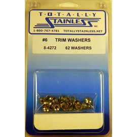 Totally Stainless #6 Trim Washers (A1) - Panel 11 - #8-4272