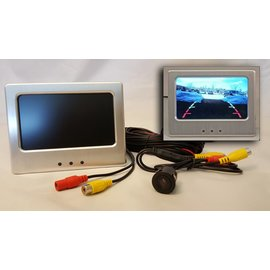 Backup Camera - Monitor Console – Through Hole Design - IT-MON-TH