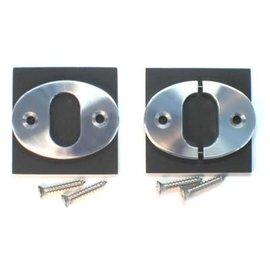 Watson Street Works Brake/Clutch Trim - Split 'n' Pinned - Oval Hole/Oval Body - B02OVS