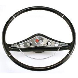 "SR Products 58-60 Impala Steering Wheel - Black - 15"""