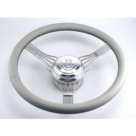 Banjo Steering Wheel - Light Gray
