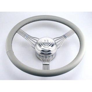 Banjo Steering Wheel - Light Gray