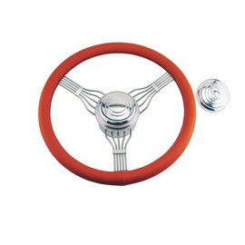 Banjo Steering Wheel - Red
