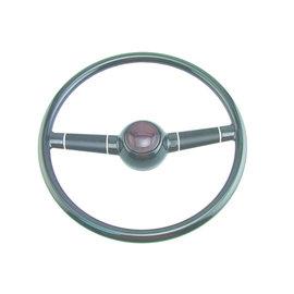 "Affordable Street Rods 40 Ford Steering Wheel - 15"" Black"