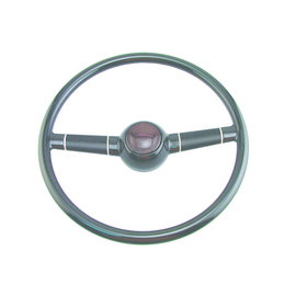 "SR Products 40 Ford Steering Wheel - 15"" Black"