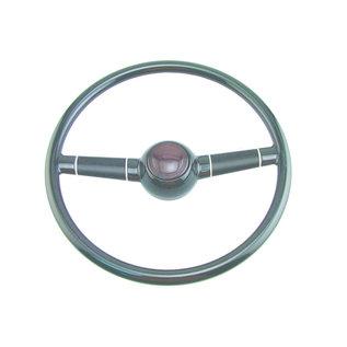 """40 Ford Steering Wheel - 15"""" Black"""