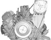 Ford Small Block V-Belt A/C Compressor Brackets