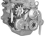 Ford Inline 6 Cylinder Engine Accessory Brackets