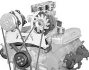 Nailhead Buick V-Belt Engine Accessory Brackets