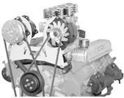 Buick Engine Accessory Brackets