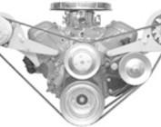 Chevy V-Belt Engine Brackets