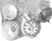 Chevy Big Block Long Water Pump V-Belt Engine Brackets