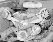 Chevy Big Block Short Water Pump V-Belt Engine Brackets