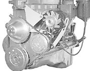 Chevy Inline 6 Cylinder V-Belt Engine Brackets