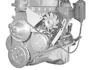Chevy Inline 6 Cylinder Engine Accessory Brackets