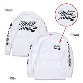 Mooneyes ME 14 - Genuine MOON Long Sleeve T-Shirt - White
