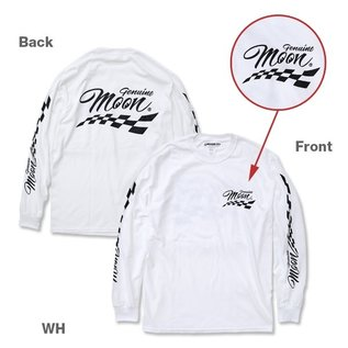 Mooneyes ME 14 - Genuine MOON Long Sleeve T-Shirt - White