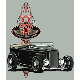 Affordable Street Rods RP 23 - ASR Phaeton Logo - Short Sleeve