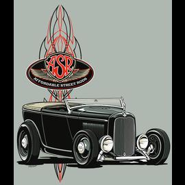 Affordable Street Rods RP 23H - ASR Phaeton Hoodie Sweatshirt