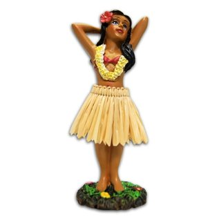 Affordable Street Rods Hula Girl - Posing - Small
