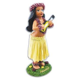 Affordable Street Rods Hula Girl - Ukulele - Small