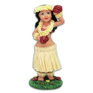 Hula Girl - Flower - Small